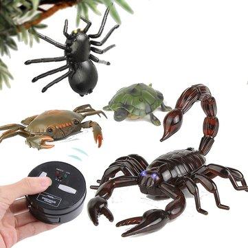 Tricky jouets télécommande scorpion étrange nouvelle télécommande crabe tortue araignée
