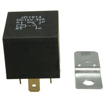 4 Pin 30A 12V 30 Amp Relay Normally Open Contact for Car Boat