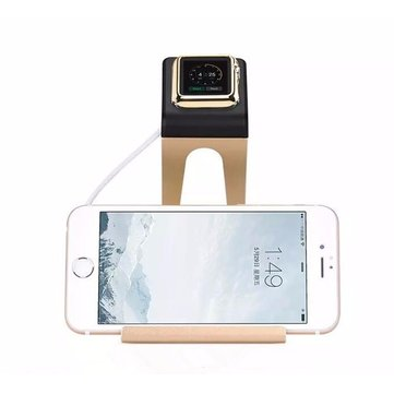 "HOCO Alüminyum Alaşım Şarj Stand Holder Apple Watch için iPhone 7/7 Plus iPad Pro 12.9 ""iPad Mini"