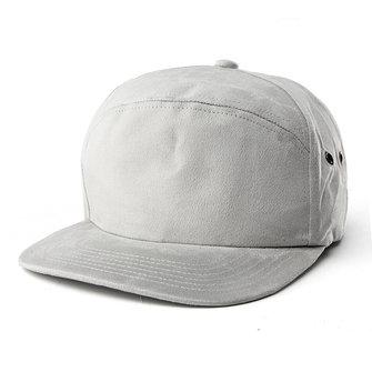 Women Macaron Color Suede Hip-hop Hat Men Flat Brimmed Visor Baseball Caps