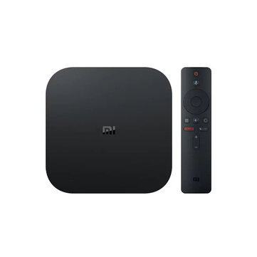 Xiaomi Mi Box 2GB DDR3 8GB 4K Android 8.1 5G WIFI Bluetooth4.2 TV Box avec commande vocale