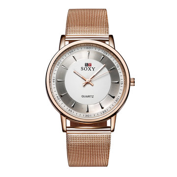 SOXY 0078 Rose Gold Ladies Wrist Watch