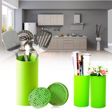 4 Color Universal Round Kitchen Knives Block Storage Holder Tool Organizer Stand Knife Holder