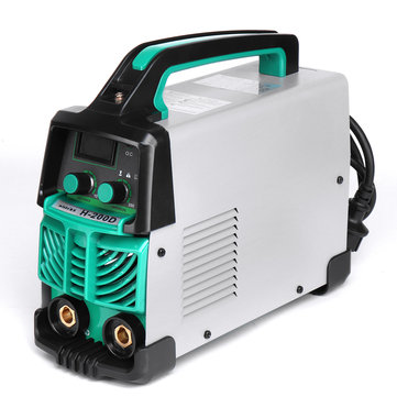 220V Handheld LCD MMA Welder ARC Durable Welding Inverter Machine Kit