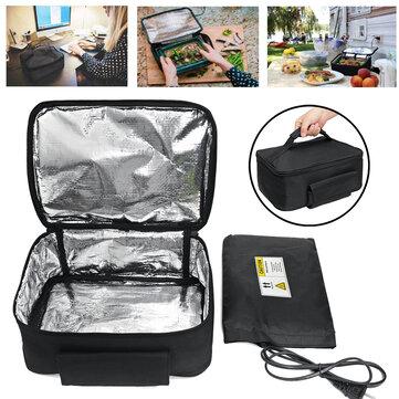 110 / 220V Mini four à pain électrique portable chauffe-plats à réchauffeur instantané