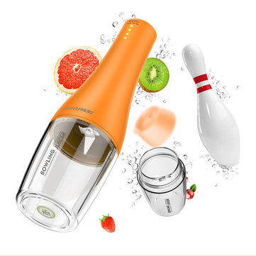 Electric Portable Bowling Juicer Vegetables Blender Maker Juice Extractor Baby Food Milkshake