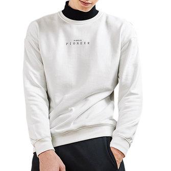 เสื้อแฟชั่นผู้ชายรอบคอแบบแขนสั้นเสื้อยืดตัวหนังสือกีฬาเสื้อกันหนาวแบบพกพา