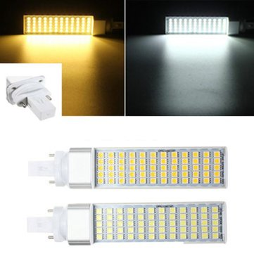 G23 12W 60 SMD 5050 LED Light Non-Dimmable Warm White/White Bulb 85-265V