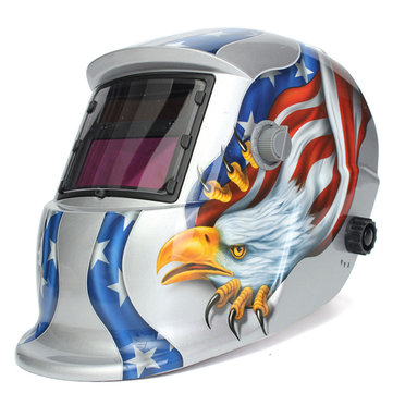 Eagle Solar Welder Mask Electric Welding Auto Darkening Welding Helmet