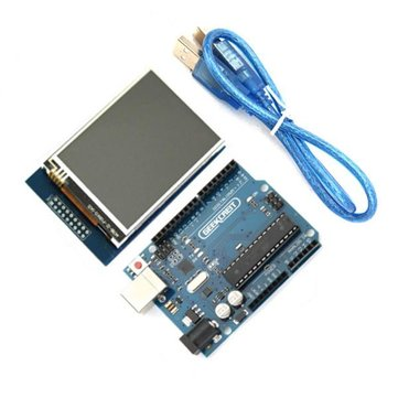 Geekcreit® UNO R3 USB Development Board With 2.8 Inch TFT Touch Display Module For Arduino