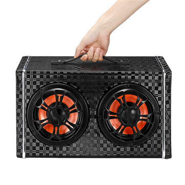 150W Wireless Bluetooth Car Speaker Super Bass Subwoofer Surround Sound With Mic For 12V/24V/100-240