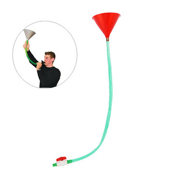 3.2Ft/1M Beer Bong Funnel Pipe Tube Valve For Party Game Fill Bar Drinking