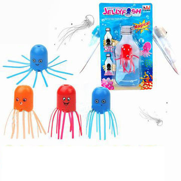 Cute DIY Magic Floating Child Science Fun Toys Floating Sea Jellyfish Wizard Gadget Gift