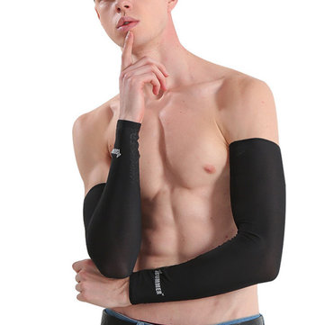 Men Women Anti-UV Arm Cooling Sleeves Gloves