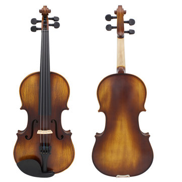 Astonvilla AV-506 4/4 Spruce Solid Wood Vintage Violin with Case&Accessories