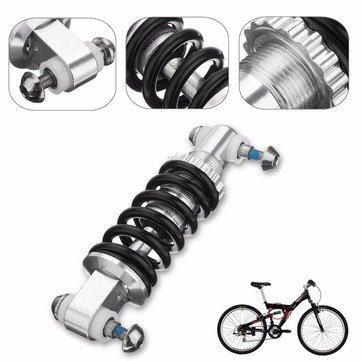B95 Black Metal 450LBS/in Rear Suspension Shock Damper Bike Shock Absorber
