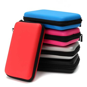 EVA Hard Protective Carrying Case Cover Handle Bag For Nintendo New 2DS LL/XL