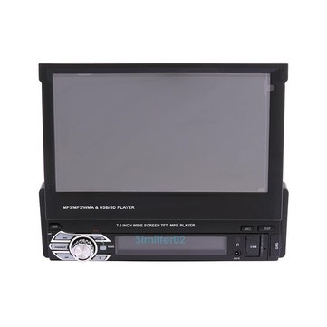 7 Inch 1DIN Car MP3 MP5 Player GPS Navigation bluetooth HD Touch Radio USB SD
