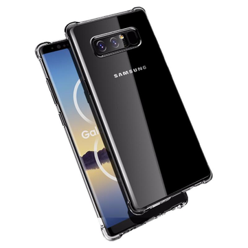 Bakeey Cuscino d'aria angoli Clear Shockproof Soft TPU Custodia per Samsung Galaxy Note 8