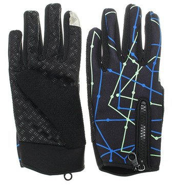 Tough Screenn Anti-skidding Full Finger Gloves For Motorcycle Riding
