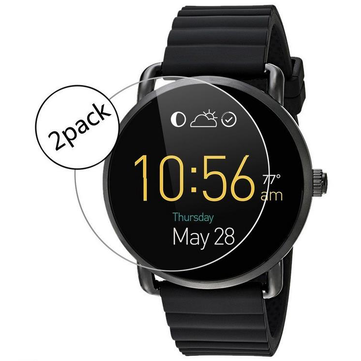 9H Premium Ultra Thin Explosion Proof Tempered Glass Screen Protector for Fossil Q Wander Watch