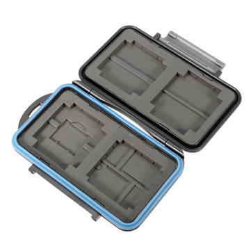 JJC MC-5 Waterproof Shockproof TF CF SD Card Memory Cards Organizer