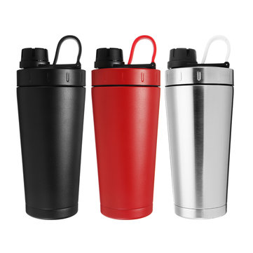 700ML Stainless Steel Insulated Vacuum Flask Thermos Water Bottle Travel Mug