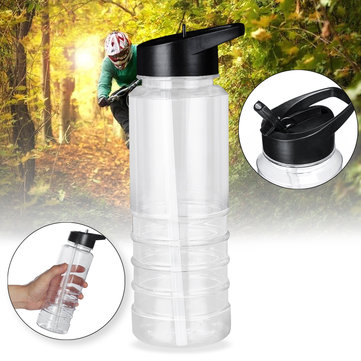700ml Outdoor Water Bottle With Straw Sports Travel Kettle Camping Hiking