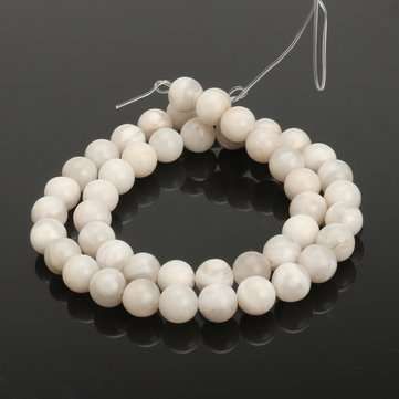Round Agate Moonstone Gemstone Loose Beads