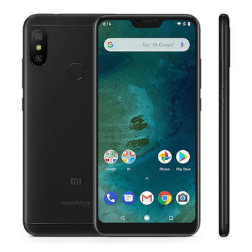7% OFF For Mi A2 Lite EU 4+32G Smartphone