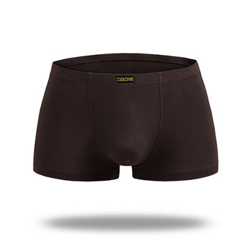 Modal Breathable U Convex Boxers Underwear Random Colors