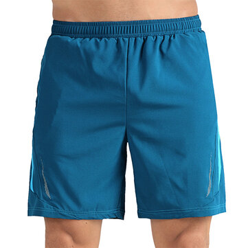 Outdoor Sports Mens Leisure Knee-length Bermuda Shorts Pant Running Training Fitness Beach Shorts