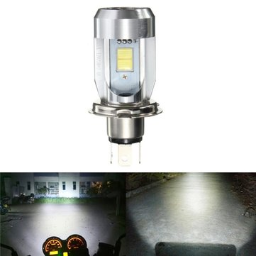 DC6-36V H4 9003 20W 2 LED CE Motorcycle Bulb Headlights Hi/Lo Beam Light White