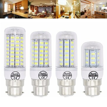 B22 5W 6W 7W 8W 10W 12W Ultra Bright SMD5730 LED Corn Bulb Lamp Chandelier Light AC110V