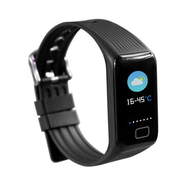 X1 Plus Weather Forcast Continuous HR Smart Watch Blood Pressure SPO2 Health Wristband Monitor