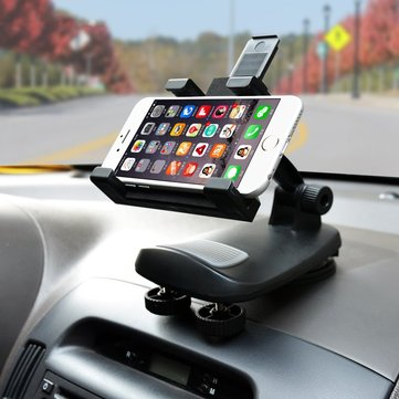Universal Car Dashboard Suction Cup Adjustable Holder Phone Stand Mount for Phone GPS Tablet