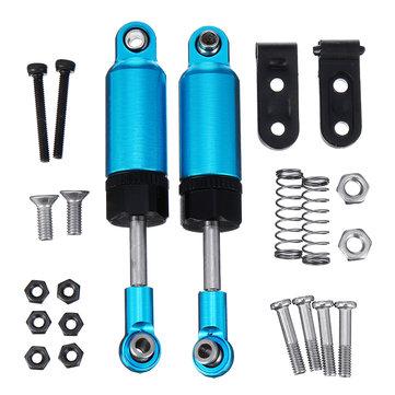WPL 2PCS 61MM Front Rear Shock Absorber Damper Upgrade For 1/16 C14 C24 RC Car Parts