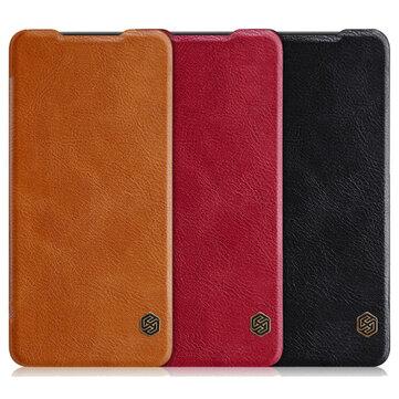 Nillkin qin virar slot para cartão de crédito inteligente sono pu estojo protetor de couro para casos Huawei P30 e couro de Telefones celulares & Banggood na Banggood.com