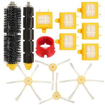 13pcs Vacuum Cleaner Accessories Kit Replacement Filters and Brushes for iRobot Roomba 700 Series