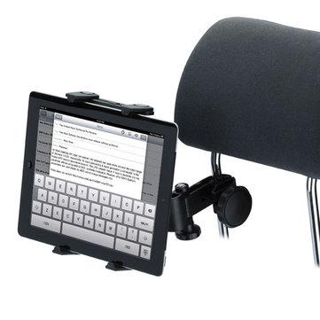 Soporte para la cabeza del asiento trasero Universal Soporte del soporte para la tableta Coche Soporte para el soporte iPad 2 3 4 Tablet PC GPS