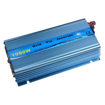 US$109.99 1000W Solar Grid Tie Inverter DC18V / 22V-60V to AC110V/220V MPPT Pure Sine Wave Inverter 50Hz/60Hz Electrical Equipment & Supplies from Tools, Industrial & Scientific on banggood.com