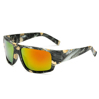 Men UV400 Camouflage Polarized Sunglasses Outdooors Sport Driving Night Vision Eyewear