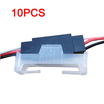 10Pcs Servo Extension Cord Fastener Plug Fixed Block for RC Helicopters