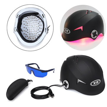 Laser Helmet Therapy Follicles Thinning Hair Loss Balding