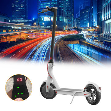 ALFAS Display 4.4AH/7.8AH Battery Foldable Electric Scooter(No-app Verison)