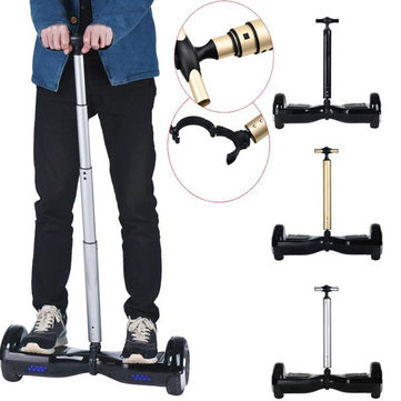 BIKIGHT 6.5Inch 2 Wheels Electric Self Balance Scooter Grip Expandable Handle Handle Control Strut