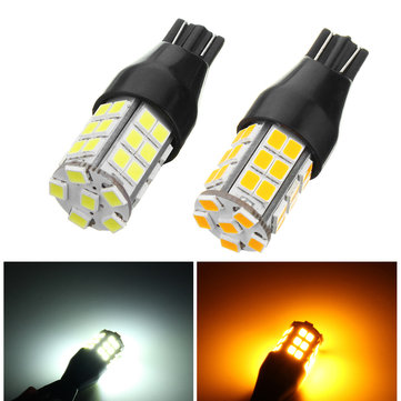 1Pcs T15 LED Car Backup Reverse Lights Side Marker Bulb Lamp DC 10-24V Yellow/White