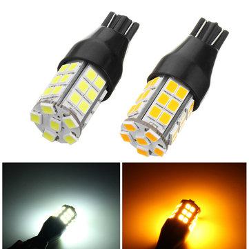 1Pcs T15 LED Car Backup Reverse Lights Side Marker Bulb Lamp DC 10-24V Yellow/White