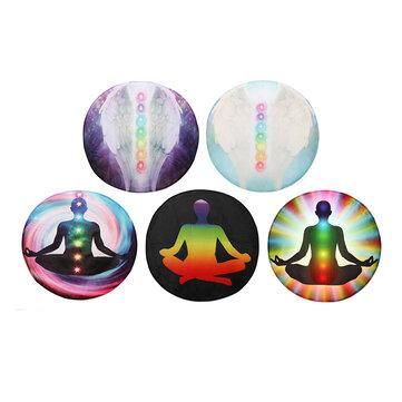 Round Style Decoration Mat Yoga Meditation Carpet Floor Mat