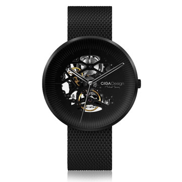 XIAOMI CIGA Design MY Series Automatic Mechanical Watch Hollowed-out Design Men Wrist Watch
